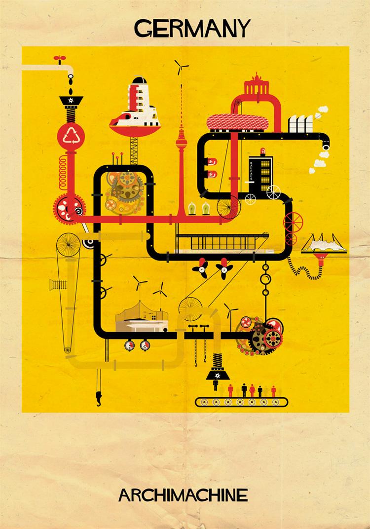 10-archimachine-federico-babina-illustrates-17-countries-through-architectural-machines