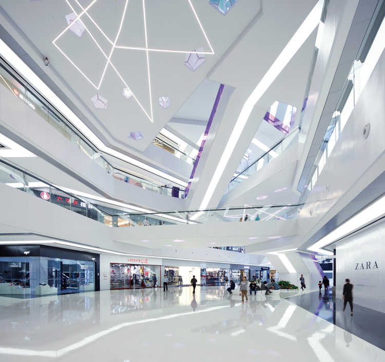 Lighting Shop At Balestier Plaza: Fuzhou Wusibei Thaihot Plaza By SPARK Architects, China