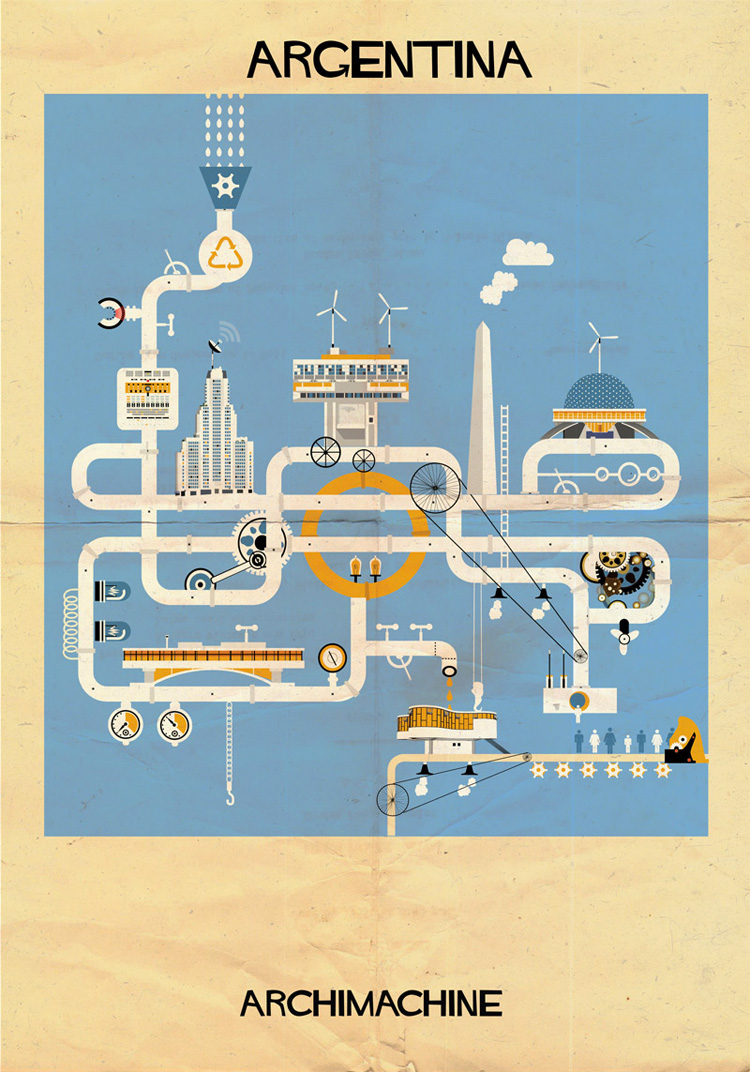 17-archimachine-federico-babina-illustrates-17-countries-through-architectural-machines