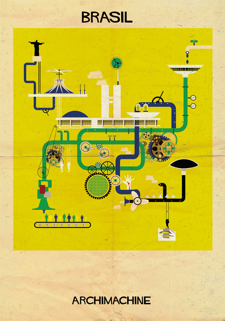 3-archimachine-federico-babina-illustrates-17-countries-through-architectural-machines