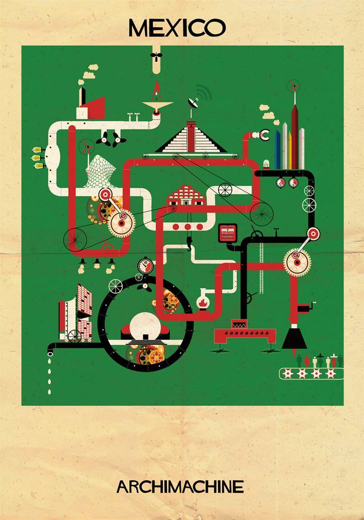 6-archimachine-federico-babina-illustrates-17-countries-through-architectural-machines